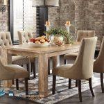 Set Meja Makan Minimalis Mewah Rustic Dining Room Set Terbaru