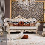 Set Sofa Tamu Mewah Spore Klasik Ukiran Mewah Terbaru