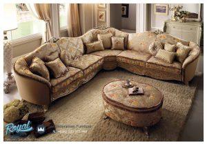 Set Sofa Tamu Sudut Mewah Minimalis Terbaru