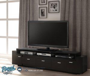 Bufet Tv Minimalis Black Pantone Terbaru