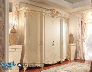Lemari Pakaian Mewah Barnini Furniture Bedroom Terbaru