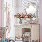Meja Rias Mewah Dania New Desain Furniture Terbaru
