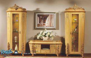 Set Bufet TV Mewah Kleopatra Furniture Mewah Terbaru