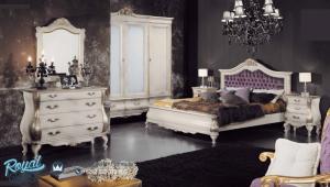 Set Kamar Tidur Mewah Europe Style Klasik Duco Terbaru