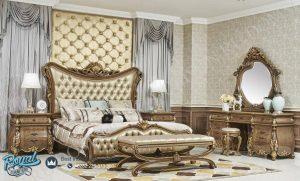 Set Kamar Tidur Mewah Gold Petiere Set Bedroom Mewah Terbaru