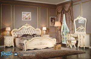 Set Kamar Tidur Mewah Klasik Duco Mewah Terbaru
