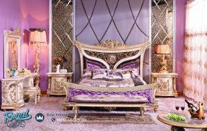 Set Kamar Tidur Mewah Klasik Furniture Set Mewah Terbaru