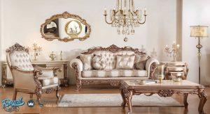 Set Kursi Tamu Sofa Mewah Gonca Klasik Set Terbaru