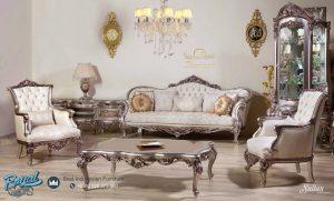 Set Kursi Tamu Sofa Mewah Sultan Set Living Room Terbaru