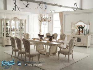 Set Meja Makan Mewah Deep Classical Furniture Terbaru