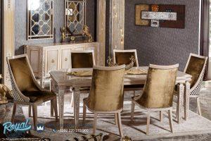 Set Meja Makan Mewah Hermes Duco Klasik Terbaru