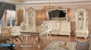 Set Meja Makan Mewah Sahika Model Ruang Makan Terbaru