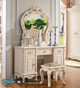 Set Meja Rias Mewah Italian Klasik Furniture Terbaru