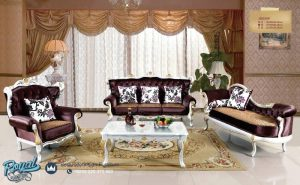 Set Sofa Tamu Mewah Armchair European Style Antique Terbaru