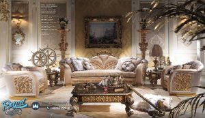 Set Sofa Tamu Mewah Dalora Klasik Set Kursi Sofa Terbaru
