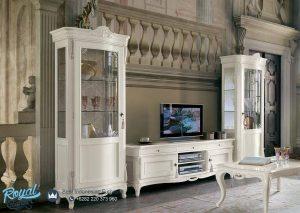 Set Bufet TV Almari Hias Codi Europe Style Model Terbaru