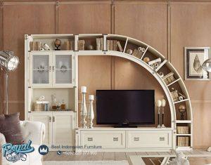 Set Bufet TV Mewah Minimalis Living Room Furniture Terbaru
