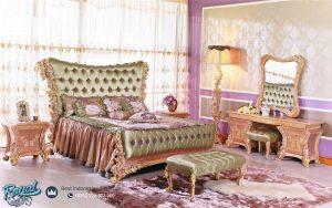 Set Kamar Tidur Mewah Beverly Gold Ukir Mewah Terbaru
