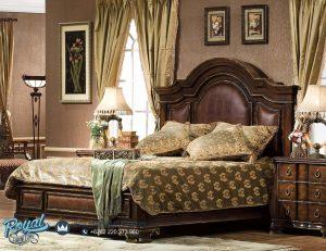 Set Kamar Tidur Mewah Georgia Bed Model Terbaru