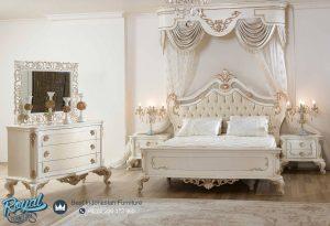 Set Kamar Tidur Mewah Gold Yatak Odasi Model Terbaru