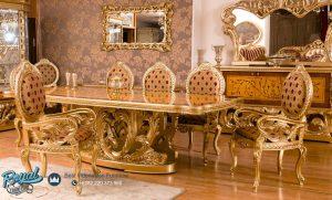 Set Meja Makan Mewah Arirang Dining Room Set Terbaru