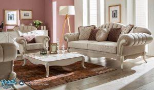 Set Sofa Tamu Mewah Avengrade Koltuk Klasik Sofa Terbaru