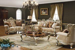 Set Sofa Tamu Mewah Fantastic Victoria Ukir Mewah Terbaru