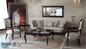 Set Sofa Tamu Mewah Jati Klasik Furniture Set Terbaru
