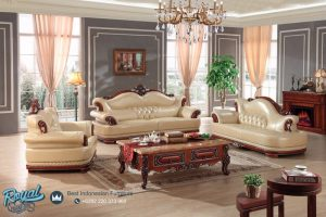 Set Sofa Tamu Mewah Jati Model Furniture Terbaru
