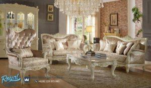 Set Sofa Tamu Mewah Modern Klasik Mewah Terbaru