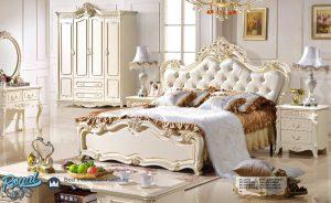 Bed Design Classic Furniture Set Kamar Tidur Mewah Terbaru