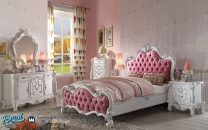 Bedroom Set Mewah Versilas White Duco Model Terbaru