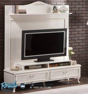 Bufet TV Minimalis Belissa Simple Klasik Model Terbaru