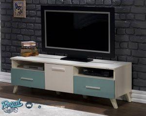 Bufet TV Minimalis Vintage Plasma TV Modern