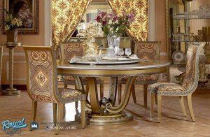 Dining Room Classic Luxurious Meja Makan Set Mewah Terbaru