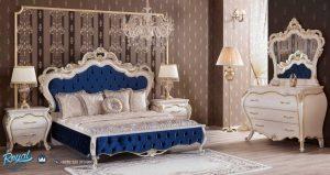 Furniture Kamar Tidur Mewah Ferona Klasik Ukiran Terbaru