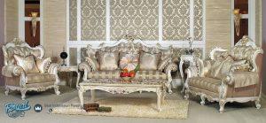 Kursi Tamu Sofa Mewah Ukiran Klasik Jepara Terbaru