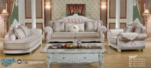Kursi Tamu Sofa Set Armchair Model Mewah Terbaru