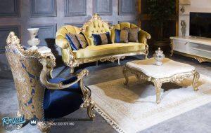 Model Kursi Tamu Sofa Mewah Salcanat Set Furniture Ruang Tamu Terbaru