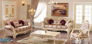 Model Sofa Tamu Elegan Mewah Klasik Terbaru
