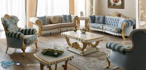 Model Sofa Tamu Set Mewah Dante Klasik Terbaru