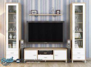 Set Bufet TV Minimalis Mewah Desain Modern Terbaru