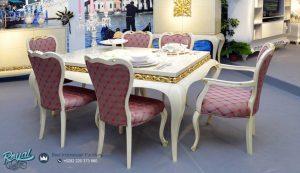 Set Dining Room Table Mewah Model Kursi Makan Terbaru
