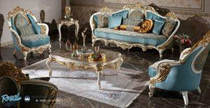 Set Furniture Living Room Set Mewah Model Terbaru
