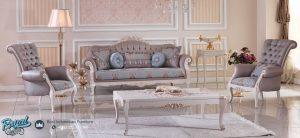 Set Furniture Ruang Tamu Mewah Klasik Model Terbaru