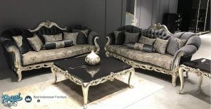 Set Furniture Ruang Tamu Sofa Tamu Mewah Model Terbaru