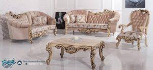 Set Kursi Tamu Sofa Mewah Klasik Sofa Set Terbaru