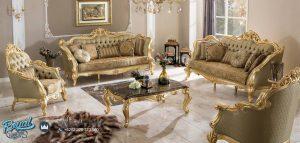 Set Kursi Tamu Sofa Saltanat Exclusive Furniture Living Room Terbaru