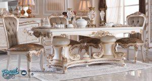 Set Meja Makan Klasik Model Elegan Mewah Terbaru