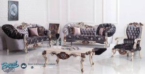 Set Sofa Tamu Mewah Safir Model Furniture Terbaru